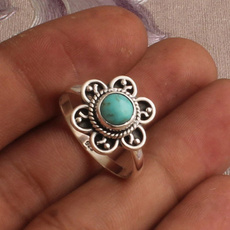 Sterling, Turquoise, Designers, wedding ring