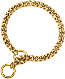 Medium, Chain, Stainless Steel, gold