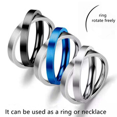 Steel, Fashion, wedding ring, Stainless Steel