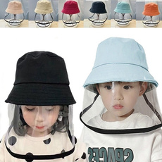 fischhutfürkinder, windproofprotectivehat, Fashion, детскийпылезащитныйколпачок