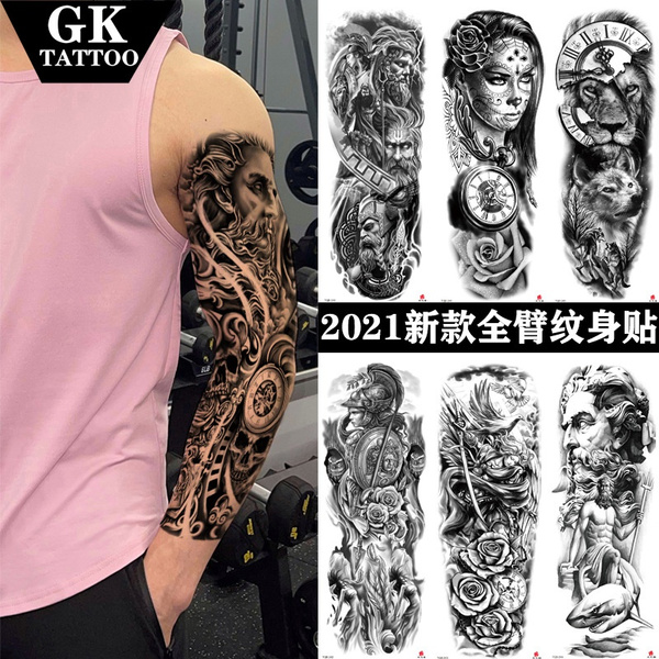 tattoo, Flowers, armtattoosticker, Waterproof