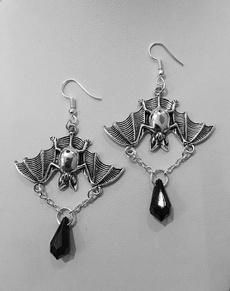 halloweenearring, Goth, Jewelry, Jewellery