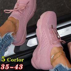 Summer, Hiking, Plus Size, Platform Shoes