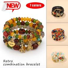 smallpendantbracelet, ethnicbracelet, Jewelry, colorfulbracelet