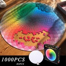 circularpuzzle, Toy, Gifts, rainbow