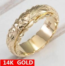 Flowers, Rose Gold Ring, gold, Elegant