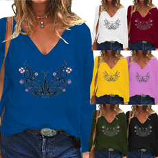 Plus Size, Tops & Blouses, Graphic T-Shirt, Sleeve