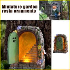Door, Garden, retrofairygardendoor, dwarfornament