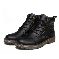 ankle boots, combat boots, Leather Boots, leather