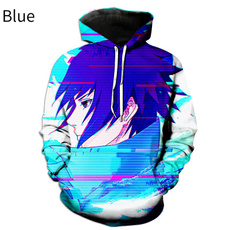 3D hoodies, cartoonpullover, Fashion, printed