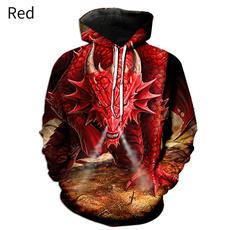 3D hoodies, printed sweatshirt, funnypullover, Long Sleeve