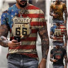 Printed T Shirts, Graphic T-Shirt, usaflagtshirt, sporttshirt