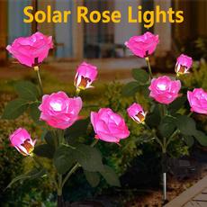 outdoorfigurinelight, solarflowerlight, Outdoor, outdooringroundlight