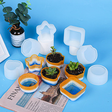 Plants, Silicone, claymold, siliconemould