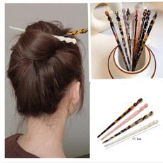 hairchopstick, Chinese, Geometric, Women jewelry