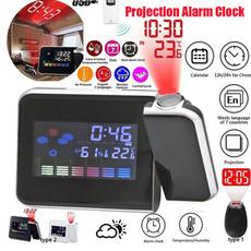 led, projector, Clock, Alarm