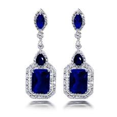 Blues, Sterling, pendantearring, Jewelry