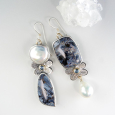 Jewelry, Pearl Earrings, pearls, Vintage