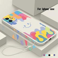 case, iphone11, iphone12, rainbow