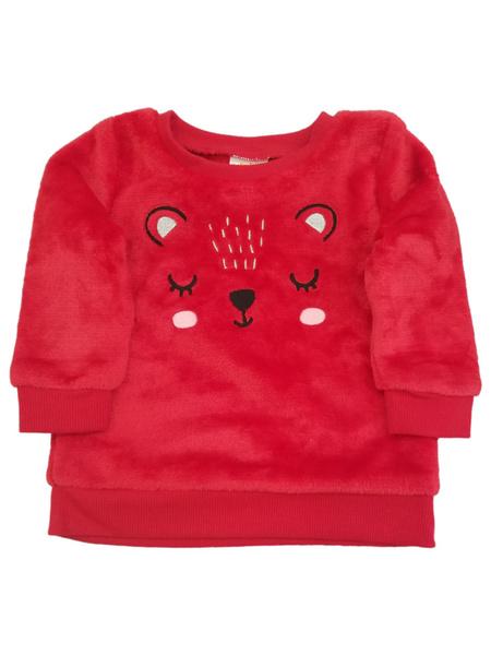 cute, Baby Girl, fur, Red