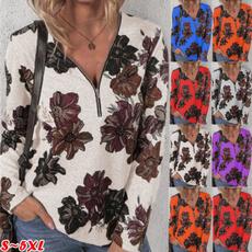 sleeve v-neck, blouse, womens top, Sleeve
