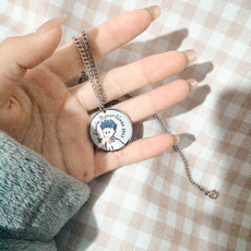 Steel, littleprinces, punk necklace, Jewelry