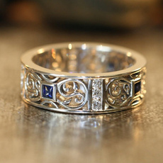 patternring, Jewelry, Mens Accessories, Silver Ring