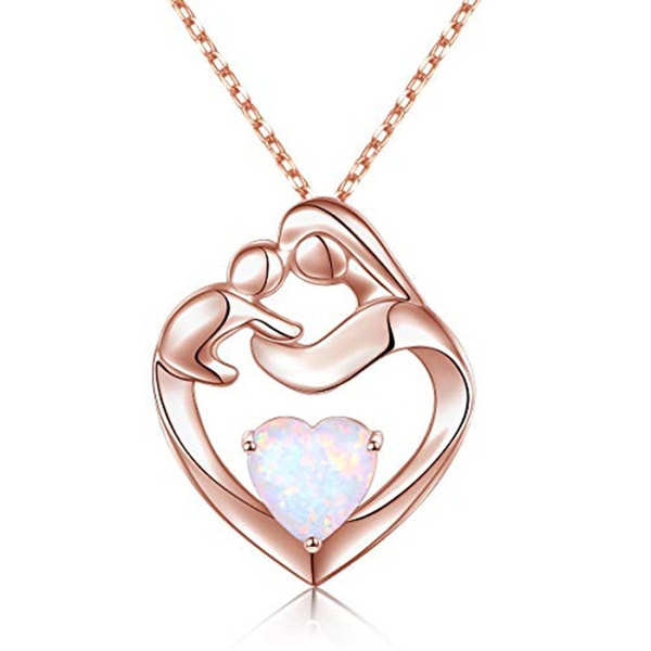 Heart, Chain Necklace, Jewelry, gold