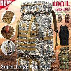 Hiking, Outdoor, Capacity, 100lbackpack