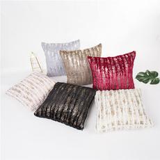 crystalvelvetpillowcase, decoration, brushgoldpillow, velvet
