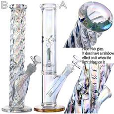 beaker, rainbow, glowatnightbong, glass pipe
