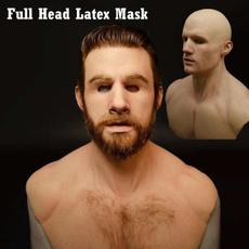 latex, Head, horrormask, partyprop
