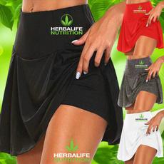 runningshort, Leggings, high waist skirt, Waist