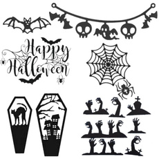 batcuttingdie, Scrapbooking, halloweencuttingstencil, halloweencuttingdie