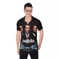 Shirt, Movie, Men, short sleeves