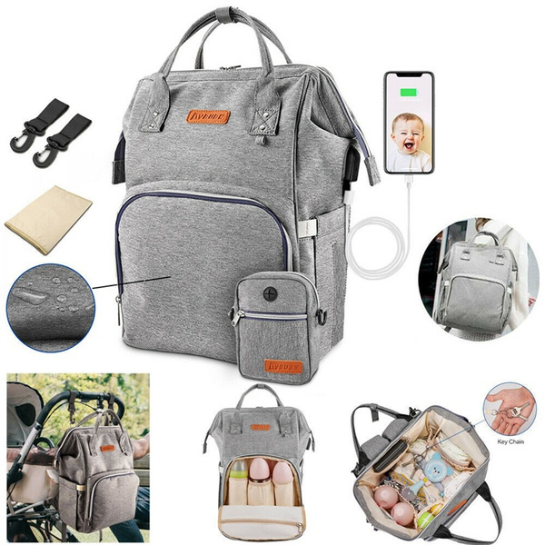 Fashion, Capacity, Waterproof, diaperbagbackpack