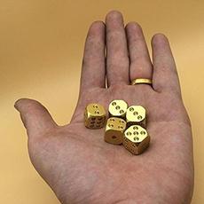 Brass, Copper, cube, Bar