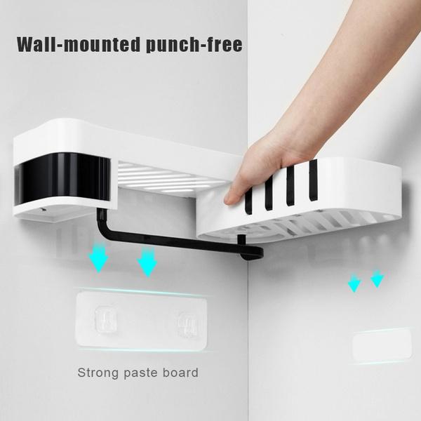 punchfreestoragerack, storagerack, Bathroom, wallmounted