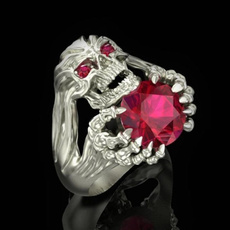 ringsformen, Fashion, Jewelry, skull