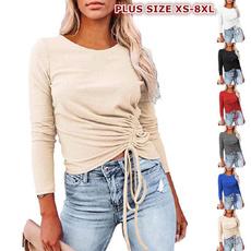blouse, Plus Size, Plus Size Fashions, solidcolortop