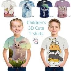 cute, childrentshirt, Summer, personalitytshirt