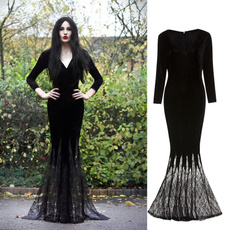 ghost, gowns, Goth, Cosplay