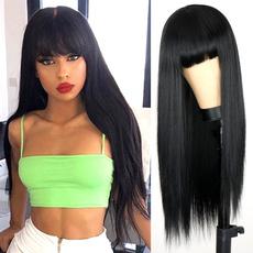 wig, bangswig, straightwig, Hair Extensions
