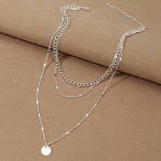 Personalized necklace, short necklace, friendshipnecklace, Jewelry