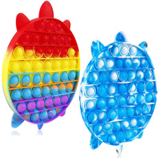 Turtle, Toy, fidgettoy, Tie Dye