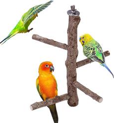 parakeettoy, Wood, woodbirdperch, Natural