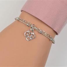 Sterling, Charm Bracelet, Celtic, sterling silver