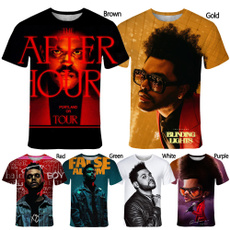 Mens T Shirt, singer, Fashion, Summer