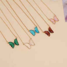butterfly, cute, Cocktail, gold
