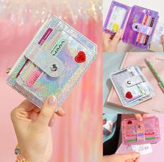 case, cute, shortwallet, Holographic